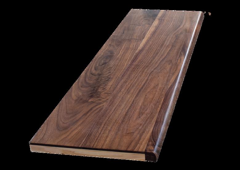 Walnut Stair part [Pine core]