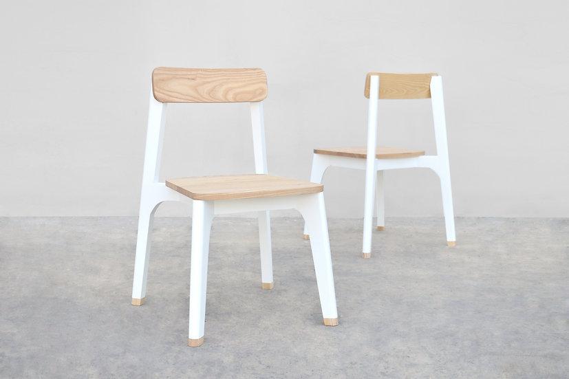 JU-NO Chair [Black/White]