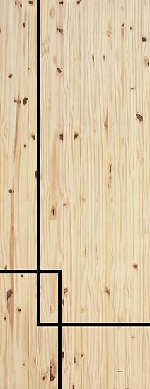 USA pine Door (ML-19)