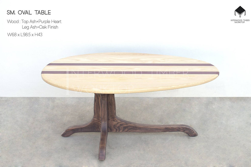 SM. Oval Table