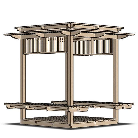 Arun Pavilion (W240 L240 H250)