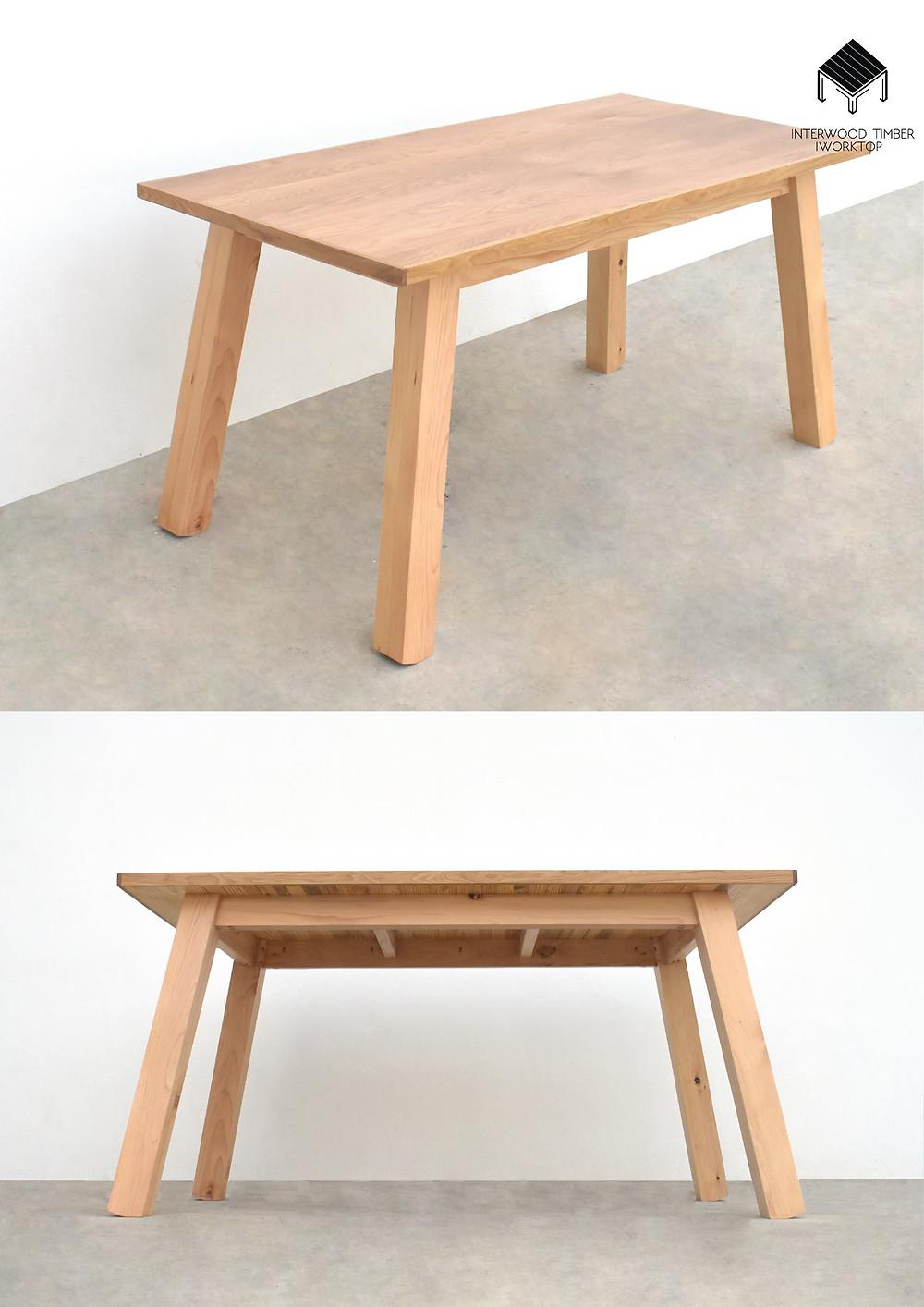 Interwood timber Glulam ไม้จริง - ประตู ลูกบันได โต๊ะ