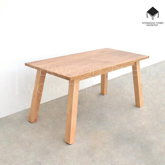 Glulam Table ขาM (ขาไม้สนสวีเดน)