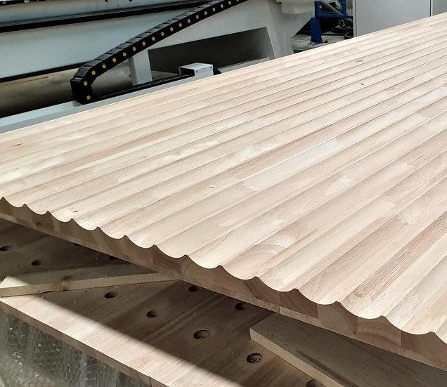 ไม้ยางพาราประสาน (CNC Arc50 z10)