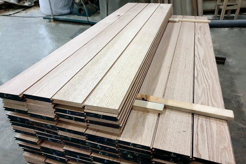 ไม้พื้น เรดโอ๊ค 14mm, 20mm (Red oak flooring 14&20mm) *per square meter*