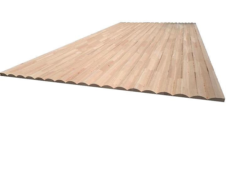ไม้ยางพาราประสาน (CNC R-Arc 70 z12)