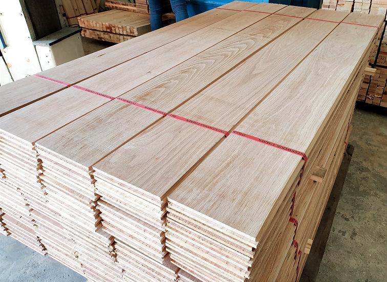 ไม้ไวท์โอ๊คแผ่นบาง (Oak 3mm. x14x 240cm.)
