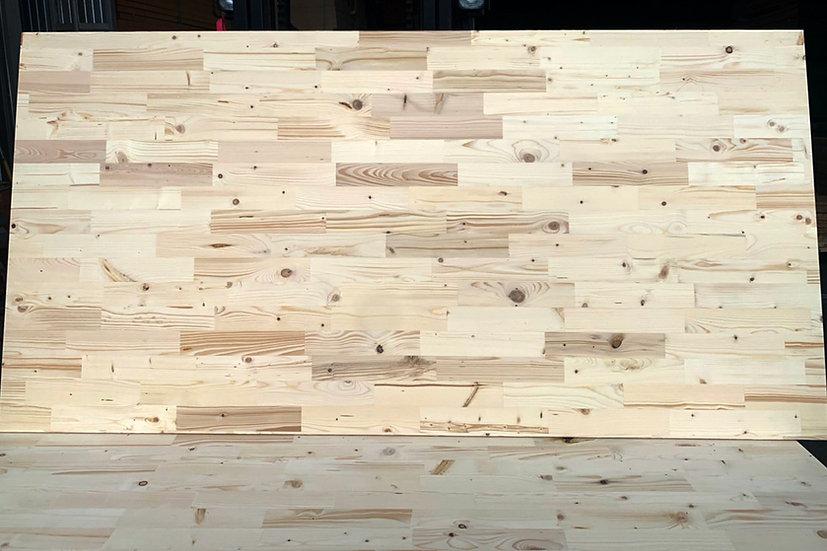 ไม้สนฟินแลนด์อัดประสาน ลายปาร์เกต์  (Finland  Pine woodboard  Parquet pattern)