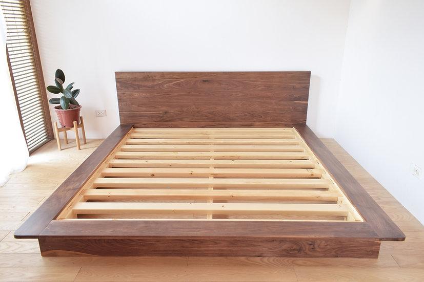TIA Bed (Walnut)