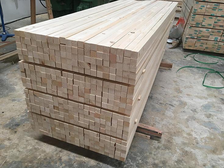 ไม้ไสลูกเต๋า สนฟินแลนด์ (Finland Pine - Square Lumber)