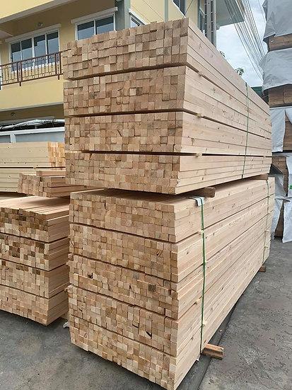 """ไม้เสา 2""""x2""""x3m. สนสวีเดน (Sweden Pine)"""