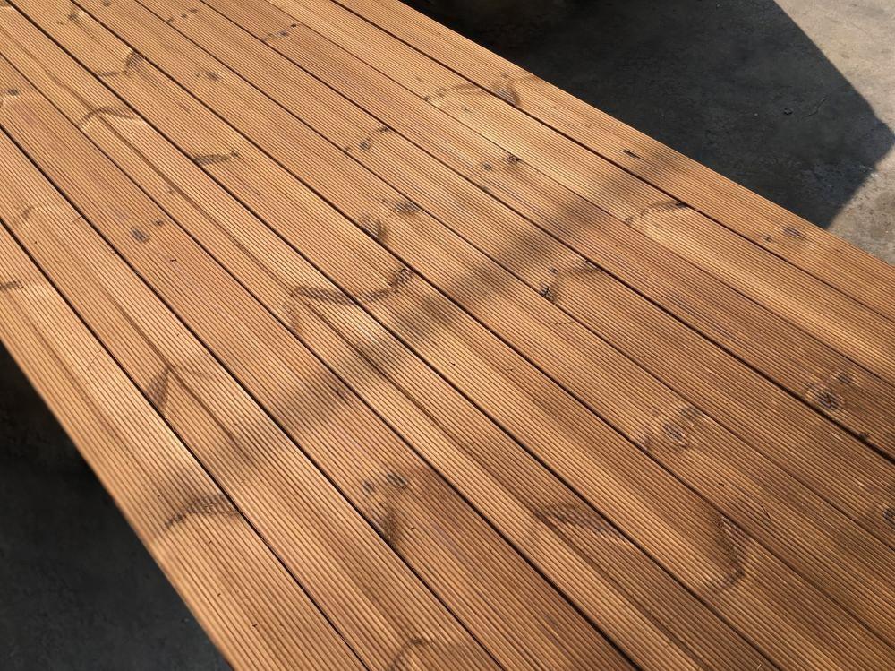 Interwood timber Iworktop Thermowood
