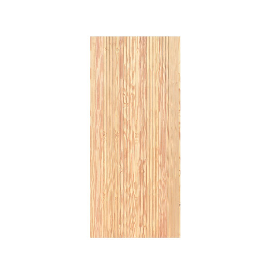 USA pine Door Straight line carving (ประตูไม้สน ลายธรรมชาติเดินร่อง)