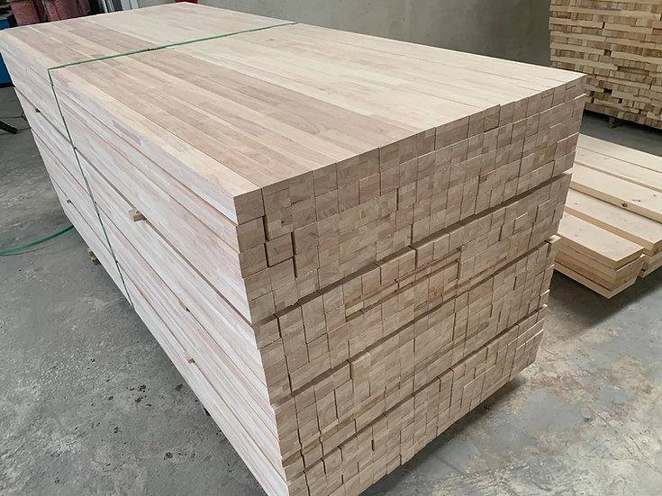 ไม้เสา ยางพารา (Rubber wood - Square Lumber)