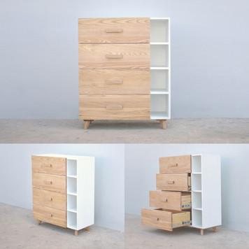 White malt Cabinet