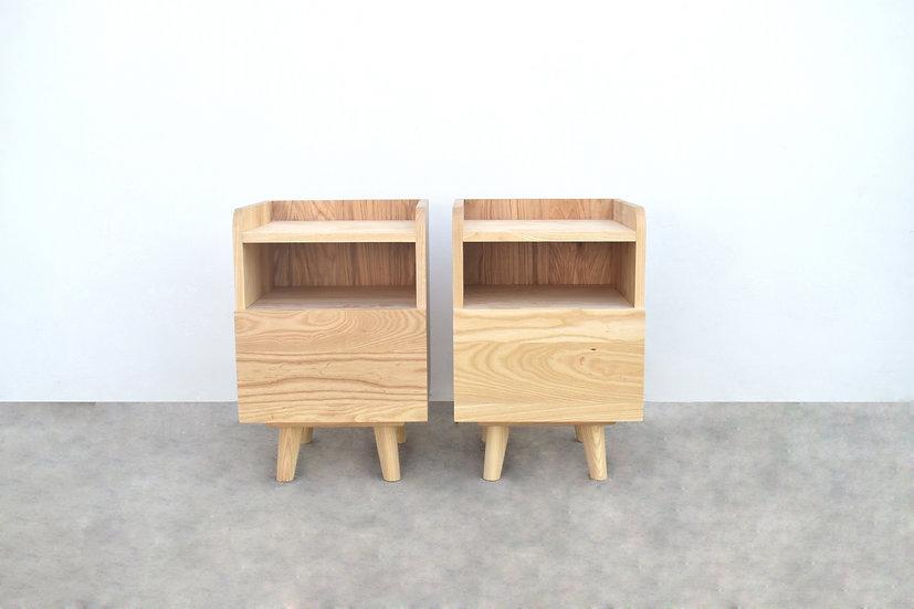 Brown (Ash, Oak) Side table