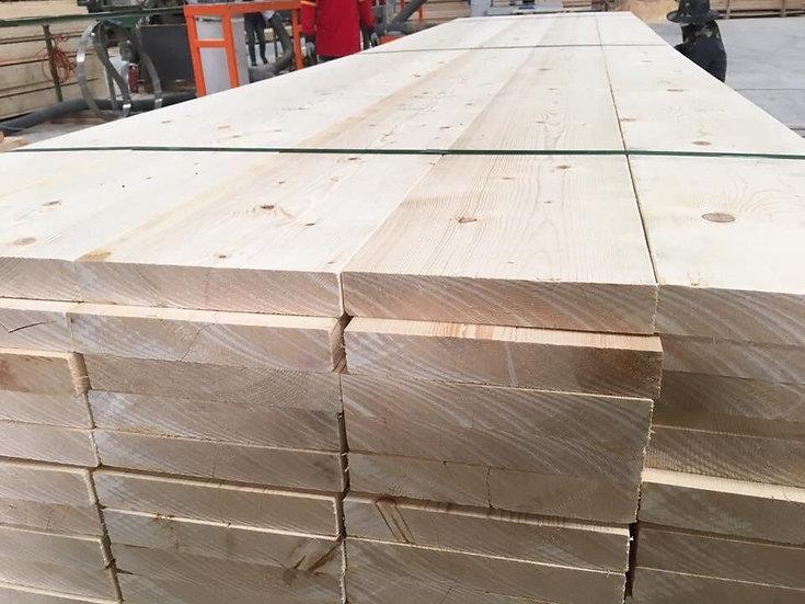 """ไม้ไสเรียบ สนฟินแลนด์ 1.5""""   x2.44m.  (Finland Pine)"""