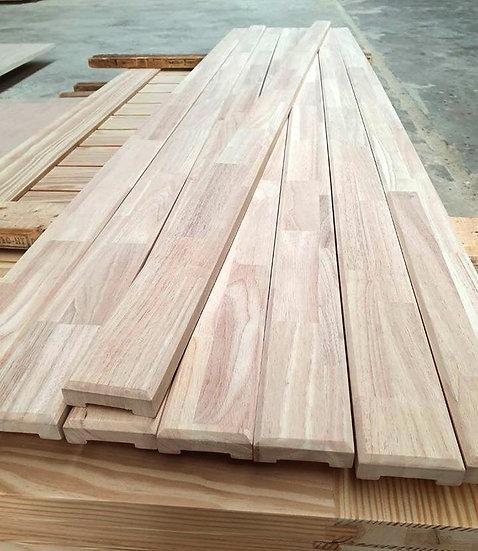 Rubberwood Handrail 25mmx75mmx2.44m (ราวจับ ไม้ยางพารา)