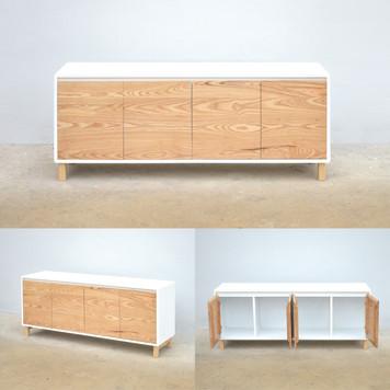 White bonnie Cabinet