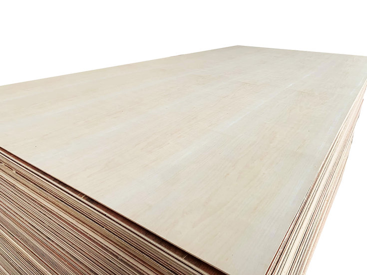 ไม้อัด เมเปิ้ล 3.2mm x1.22x2.44m (Maple Plywood)