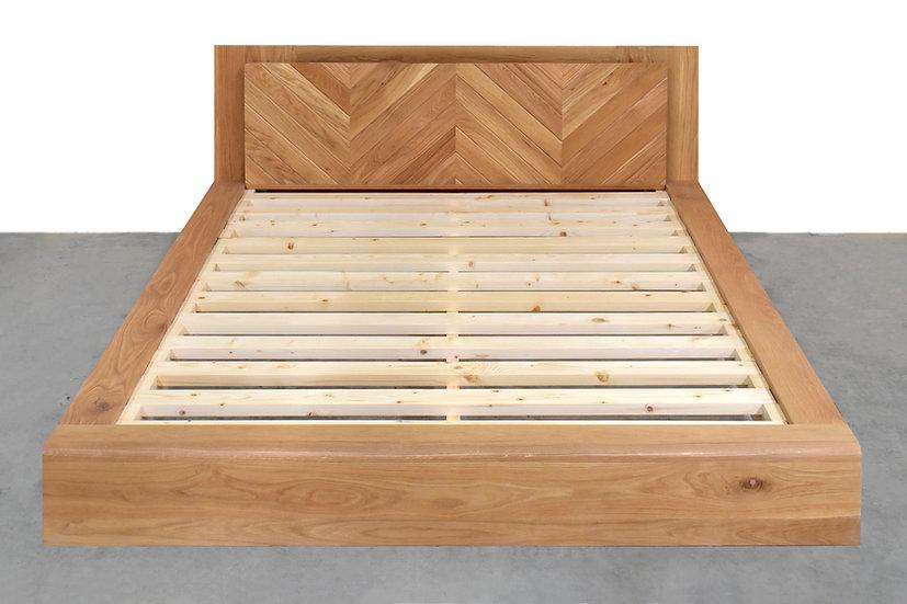 Double Step Bed - Ver2 หัวเตียงเสมอขอบ