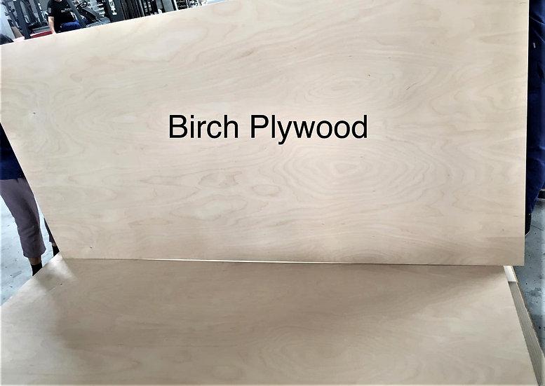 ไม้อัด เบิร์ช  (Birch Plywood)