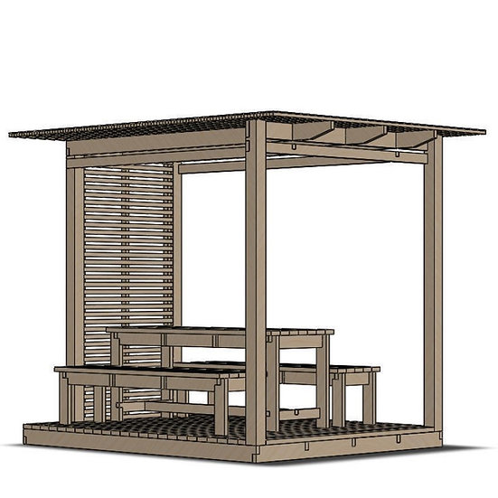 Mina Pavilion (W240 L280 H240)