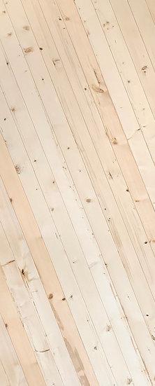 Finland pine Door Oblique pattern K01 (ประตูไม้สน ลายเฉียง)