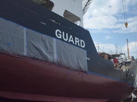 U.S. CG Oak buoy tender