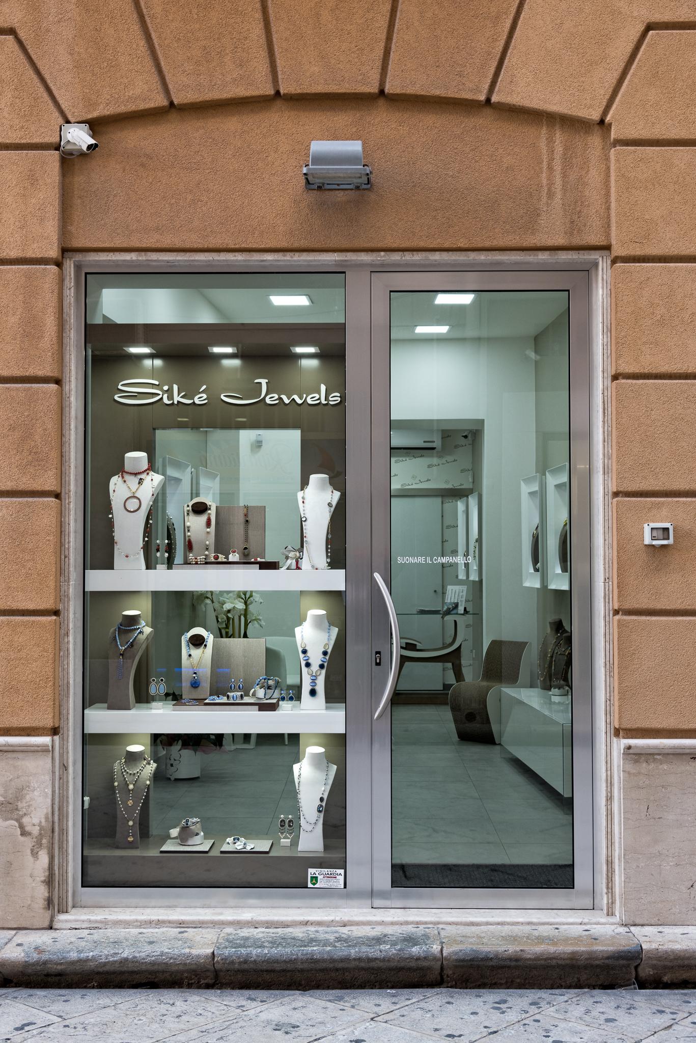 Siké Jewels Entrance