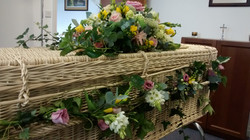Dressed Coffin, spring colours