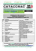 CATACCRAC calendari concurs FEBRER 2021