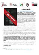 ACTE CANCEL.LAT - IAC Comunicat - XERRAD