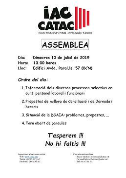 ASSEMBLEA TSF Edifici Paral.lel - 10 jul