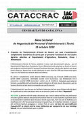 Cataccrac-23 2018 Mesa Sectorial 15 octu