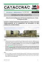 CATACCRAC 2019 -05 MESA SECTORIAL 21 GEN