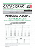 CATACCRAC-29 RETRIBUCIONS 2018 PERSONAL