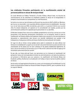 NdP Manifestación Madrid 22M.SINDICATOS.