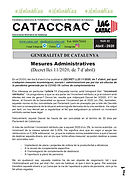 CATACCRAC 22  Mesures administratives -