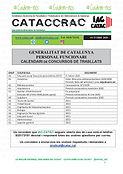 CATACCRAC calendari concurs OCTUBRE 2020