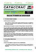 CATACCRAC 2020 - 41 Decret teletreball a