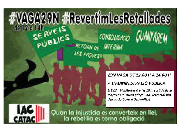 cartell iac catac - vaga 29N-Lleida (1).