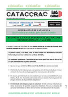 CATACCRAC TSF - JUNTA DE PERSONAL DEL SO