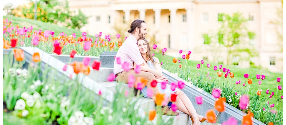 Taylor & Louis | Spring Richmond Virginia Engagement Session