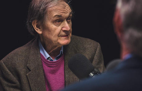 Roger Penrose can't escape an ultimate explanation for the universe