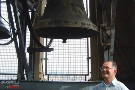 Nomi e curiosità delle otto campane del santuario dell'Arcella