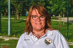 Instancabile Laura: lavoratrice, tifosa e dirigente dell'Us Arcella. «La squadra è la mia vita»