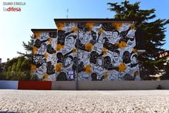 La cooperativa Orizzonti sceglie un messaggio coraggioso per salutare la sua nuova sede