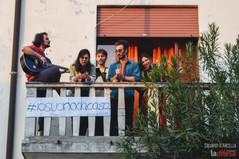 #IoSuonoDaCasa: dai balconi dell'Arcella, un po' di musica per distrarsi dal coronavirus