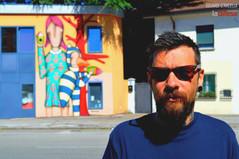 Fiabe, becchi e tanto colore: Tony Gallo porta la street art nell'Arcella